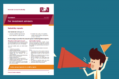 FCA Suitability Report Guidance: What does the regulator expect from you? Part II